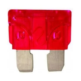 10 Amp Red Blade Fuses Pk of 3