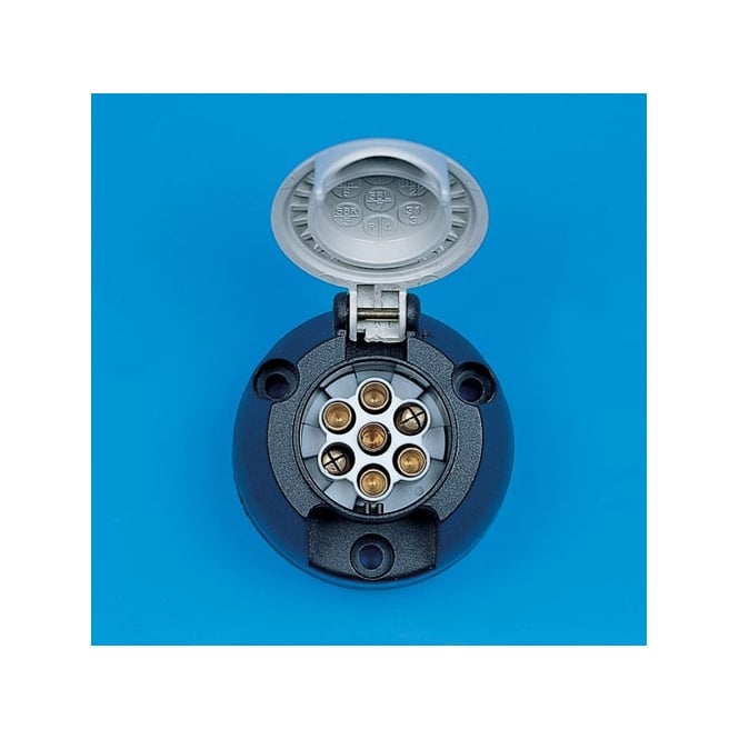 7 Pin S Type Caravan Towing Socket