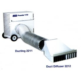 Duct Diffuser For Marquee heaters