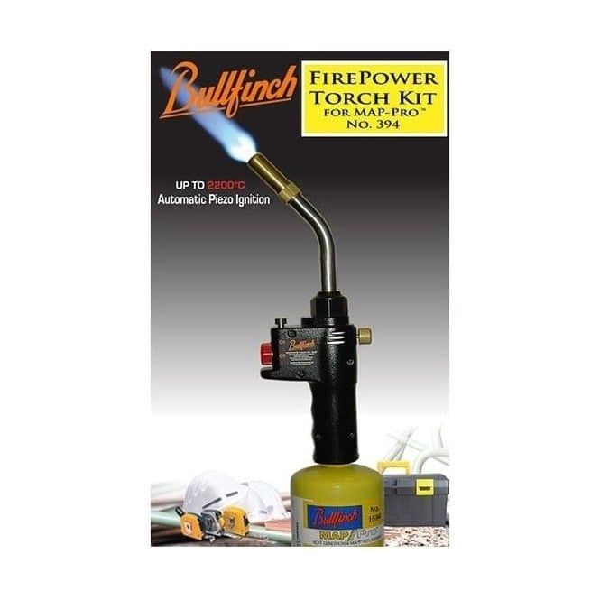 Bullfinch Firepower Torch Kit For Map Pro Gas