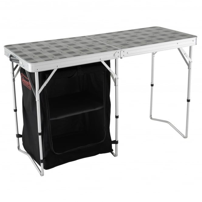 Coleman 2 in 1 Camping Table & Storage