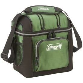Coleman Green 9 Cans Soft Cooler With Hard Liner