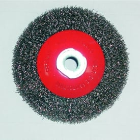 100mm x M14 Tapered Brush With Crimped Wire