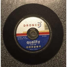 350 x 3 x 25.4mm A36T-BF Large Cutting Disc
