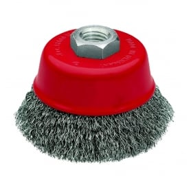 60mm x M14 Cup Brush With Crimped Wire