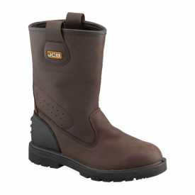 Brown Rigger Boots