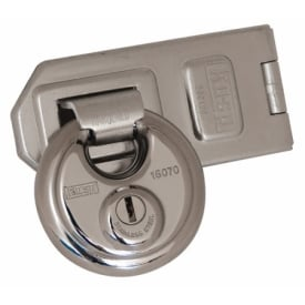 70mm Disc Padlock & Hasp