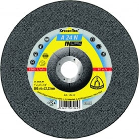 Kronenflex A24N Supra Grinding Discs For Stainless Steel Per/10