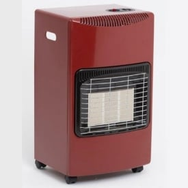 Lifestyle Seasons Warmth Portable Calor Gas Heater Red