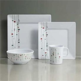 Linea Design Melamine 16pc Boxed Set