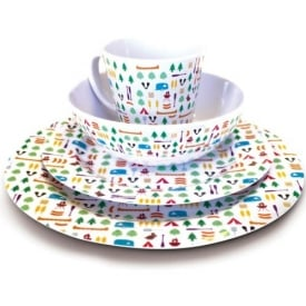 Olpro 16 Piece Berrow Hill Melamine Set