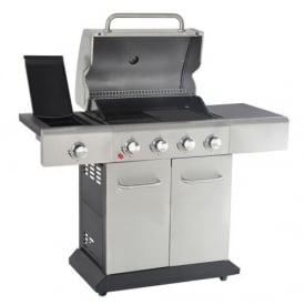 Outback Meteor 4 Burner Stainless Steel BBQ