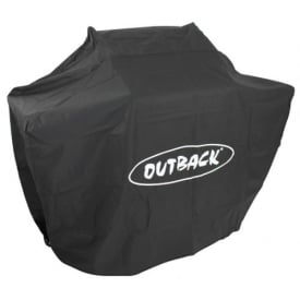 Outback Meteor Select 6 Burner Stainless Steel BBQ Cover