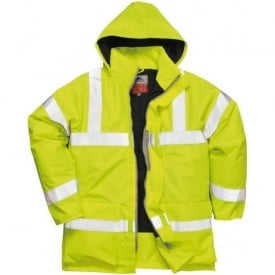 Bizflame Rain Hi-Viz Anti-static FR Jacket