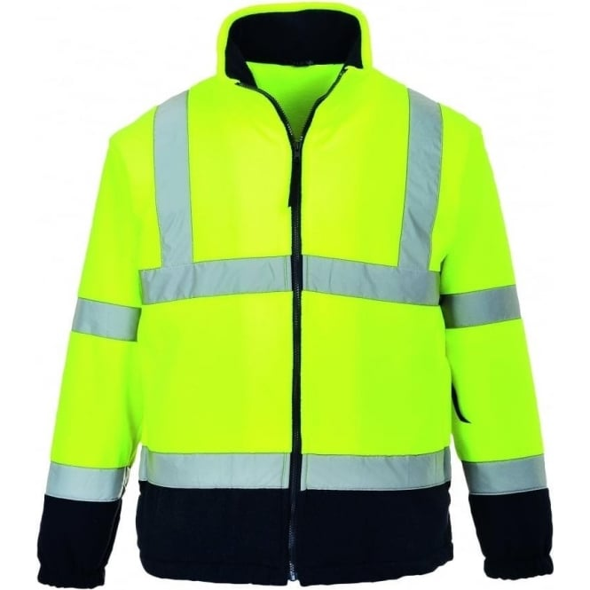 Portwest Hi-Vis 2 Tone Fleece