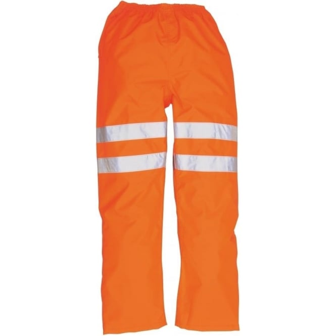 Portwest Hi-Vis Traffic Trousers GO/RT