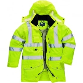 Hi-Viz 7-in-1 Traffic Jacket