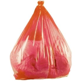 Red Soluble Strip Laundry Bags Per/200