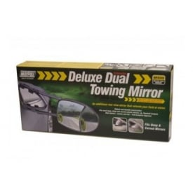 Single Deluxe Dual Glass Towing Extension Mirror