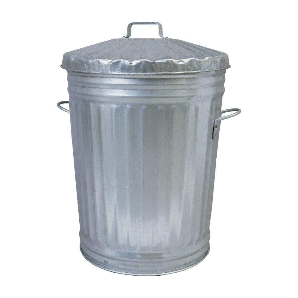 Steel Galvanised Dustbin C W Lid