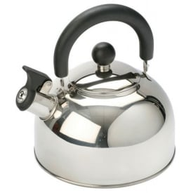 2L Stainless Steel Kettle With Folding Handle