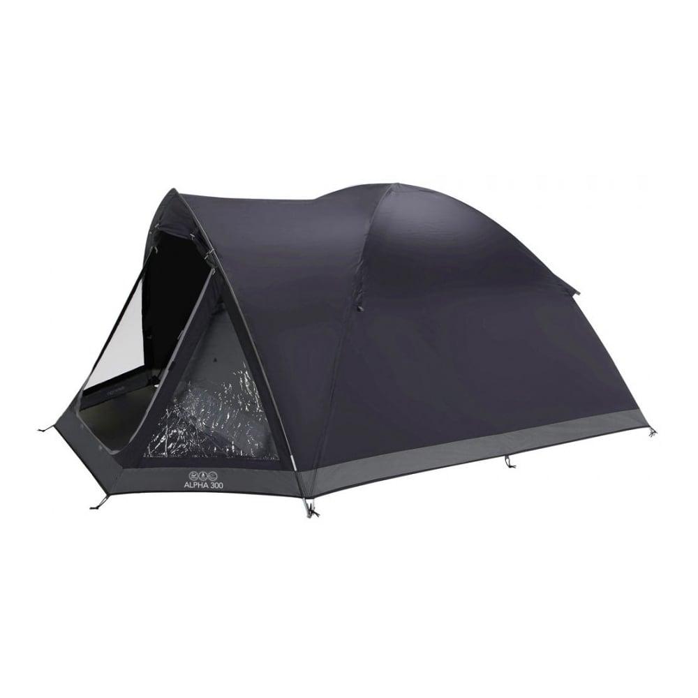 300 3 Man Tent Black  sc 1 st  TGS Industrial Supplies & Vango Alpha 300 3 Man Tent Black