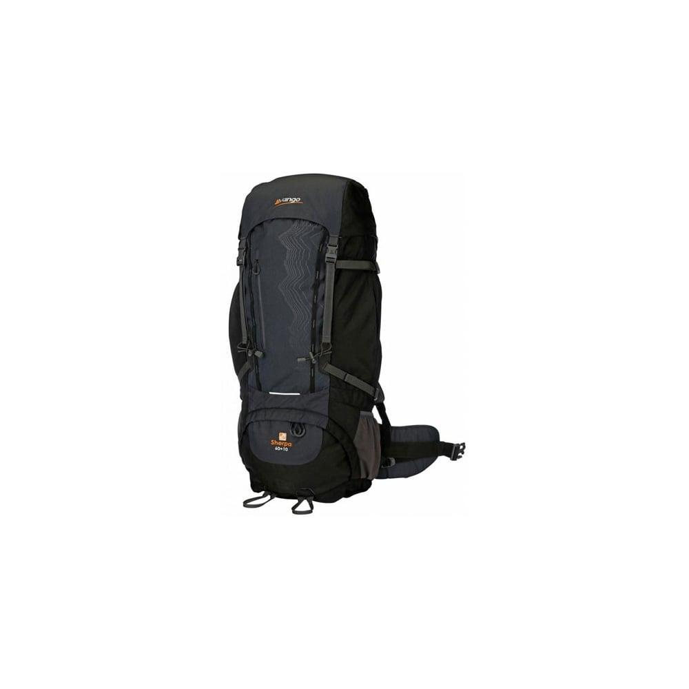 04804e15b2 Vango Sherpa 60 + 10 Rucksack Black